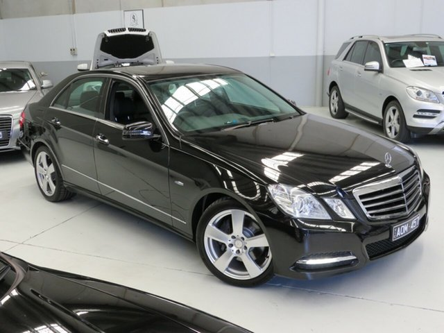 Used Mercedes-Benz E-Class W212 E250 CGI Avantgarde Seaford, 2011 Mercedes-Benz E-Class W212 E250 CGI Avantgarde Black 5 Speed Sports Automatic Sedan