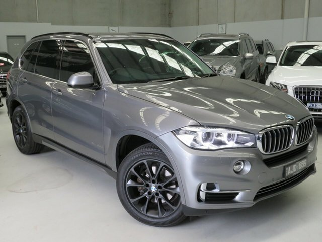 Used BMW X5 F15 sDrive25d Seaford, 2016 BMW X5 F15 sDrive25d Grey 8 Speed Automatic Wagon