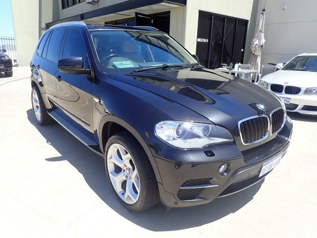 Used BMW X5 E70 MY11 xDrive30d Steptronic Wangara, 2010 BMW X5 E70 MY11 xDrive30d Steptronic Black Magic 8 Speed Sports Automatic Wagon