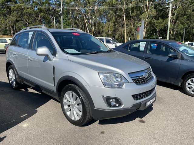 Used Holden Captiva Coffs Harbour, 2014 Holden Captiva CG Silver 5 Speed Automatic Wagon