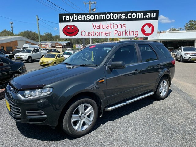 Used Ford Territory Coffs Harbour, 2013 Ford Territory TX FWD 7 SEAT DIESEL Grey 4 Speed Automatic Wagon
