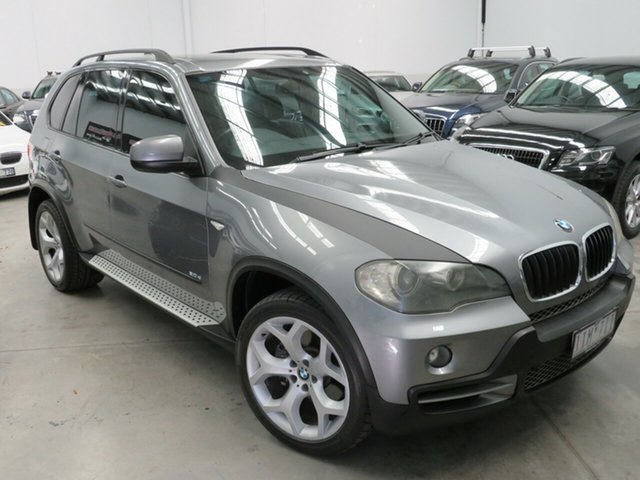 Used BMW X5 E70 d Steptronic Executive Seaford, 2008 BMW X5 E70 d Steptronic Executive Grey 6 Speed Sports Automatic Wagon