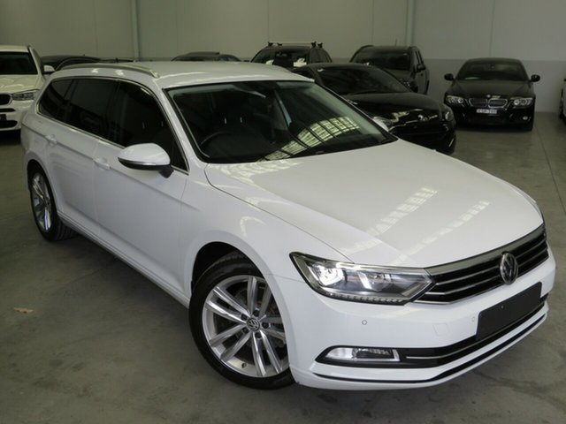 Used Volkswagen Passat 3C (B8) MY18 132TSI DSG Seaford, 2018 Volkswagen Passat 3C (B8) MY18 132TSI DSG White 7 Speed Sports Automatic Dual Clutch Wagon