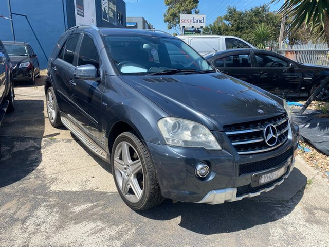 Used Mercedes-Benz ML300 CDI W164 09 Upgrade 4x4 Hoppers Crossing, 2010 Mercedes-Benz ML300 CDI W164 09 Upgrade 4x4 Grey 7 Speed Automatic G-Tronic Wagon