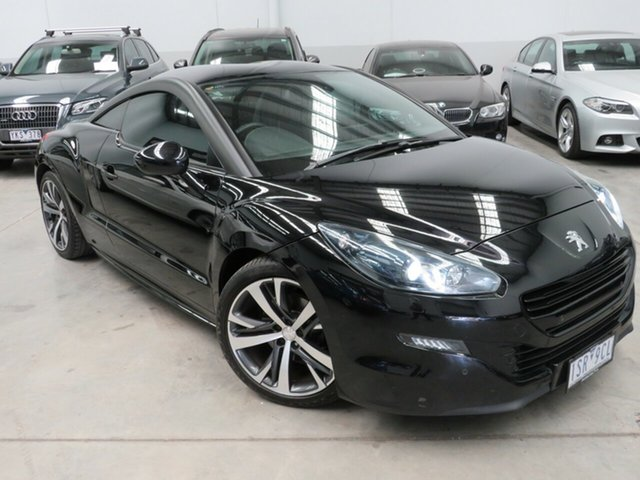 Used Peugeot RCZ Seaford, Peugeot RCZ Perla Nera Black 6 Speed Automatic Coupe