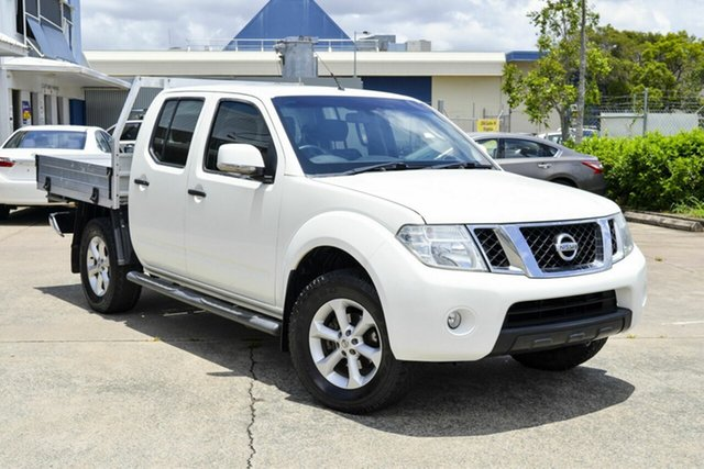 Used Nissan Navara D40 S6 MY12 ST Virginia, 2013 Nissan Navara D40 S6 MY12 ST White 5 Speed Sports Automatic Utility