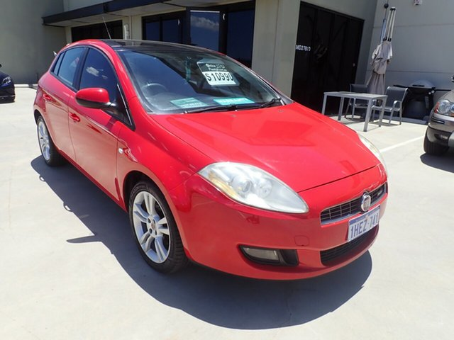 Used Fiat Ritmo Emotion Wangara, 2009 Fiat Ritmo Emotion Bright Red 6 Speed Manual Hatchback