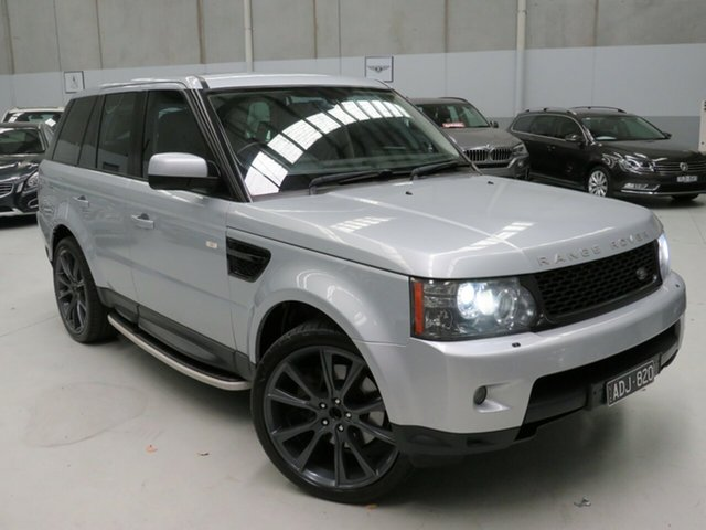 Used Land Rover Range Rover Sport L320 09MY TDV6 Seaford, 2009 Land Rover Range Rover Sport L320 09MY TDV6 Grey 6 Speed Sports Automatic Wagon