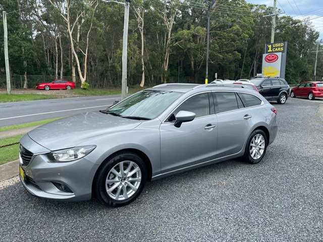 Used Mazda 6 Coffs Harbour, 2013 Mazda 6 TOURING Grey 6 Speed Automatic Wagon