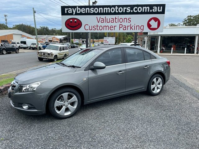 Used Holden Cruze JG CDX Coffs Harbour, 2010 Holden Cruze JG CDX Grey 6 Speed Automatic Sedan