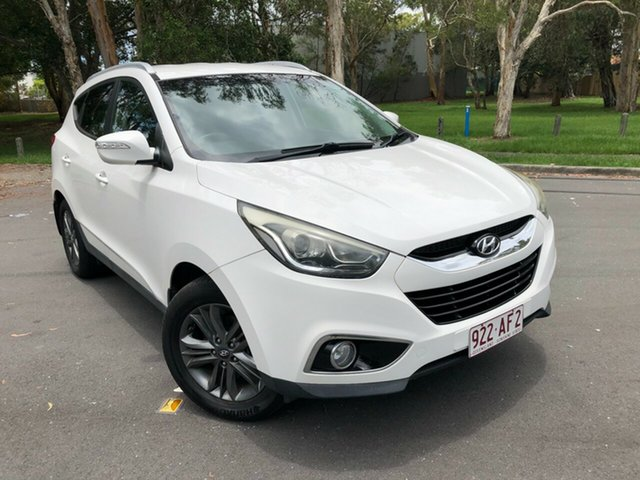 Used Hyundai ix35 LM Series II SE (FWD) Underwood, 2014 Hyundai ix35 LM Series II SE (FWD) White 6 Speed Automatic Wagon