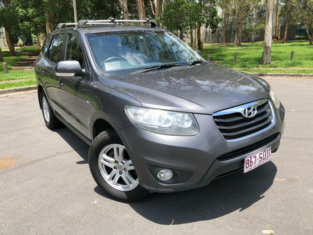 Used Hyundai Santa Fe CM MY12 SLX CRDi (4x4) Underwood, 2011 Hyundai Santa Fe CM MY12 SLX CRDi (4x4) Grey 6 Speed Manual Wagon