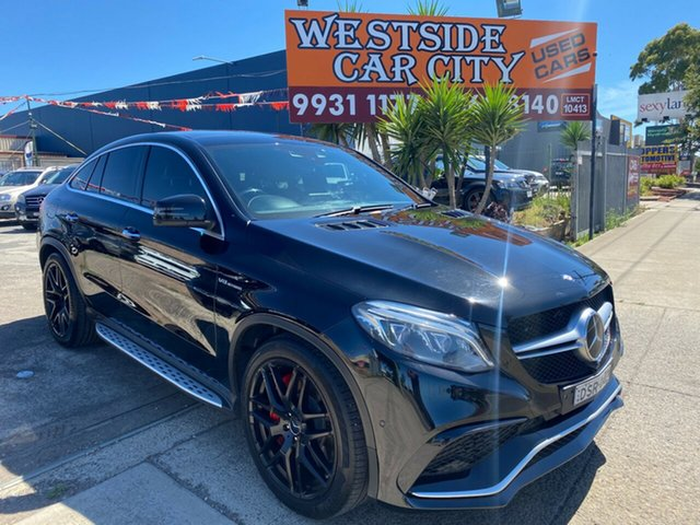 Used Mercedes-AMG GLE63 S 166 MY17.5 4Matic Hoppers Crossing, 2017 Mercedes-AMG GLE63 S 166 MY17.5 4Matic Black 7 Speed Automatic G-Tronic Wagon