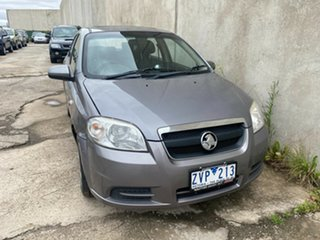 2010 Holden Barina TK MY10 Grey 4 Speed Automatic Sedan.