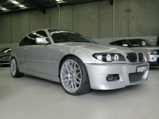 2004 BMW 3 Series E46 MY2004 325Ci Steptronic Silver 5 Speed Sports Automatic Coupe.
