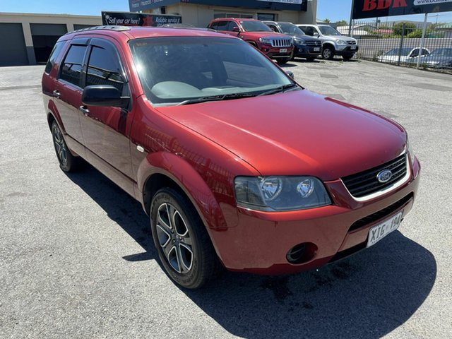 Used Ford Territory SX TX Hampstead Gardens, 2005 Ford Territory SX TX Red 4 Speed Sports Automatic Wagon