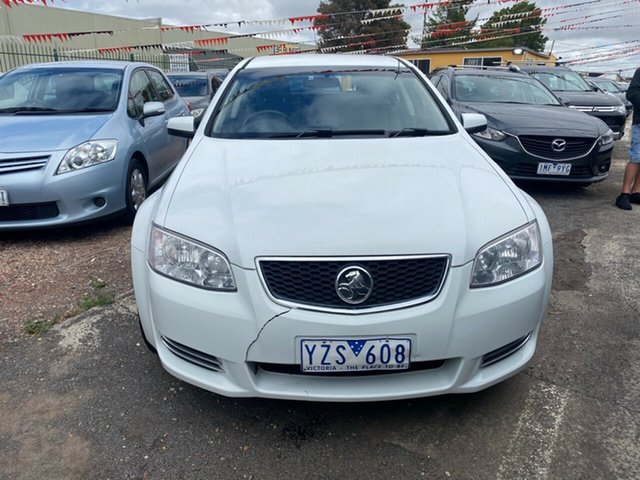 Used Holden Commodore VE II MY12 Omega Hoppers Crossing, 2012 Holden Commodore VE II MY12 Omega White 6 Speed Automatic Sportswagon