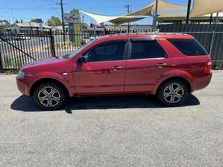 2005 Ford Territory SX TX Red 4 Speed Sports Automatic Wagon