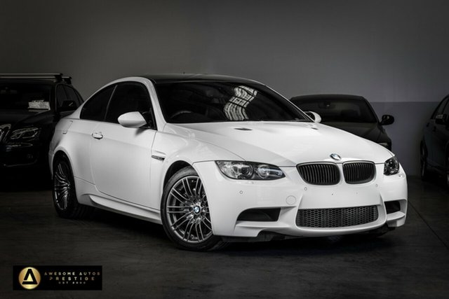 Used BMW M3 E92 M-DCT Seaford, 2009 BMW M3 E92 M-DCT Alpine White 7 Speed Sports Automatic Dual Clutch Coupe