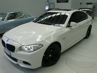 2011 BMW 5 Series F10 MY0311 528i Steptronic Alpine White 8 Speed Sports Automatic Sedan