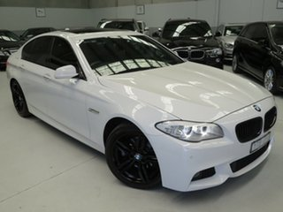 2011 BMW 5 Series F10 MY0311 528i Steptronic Alpine White 8 Speed Sports Automatic Sedan.