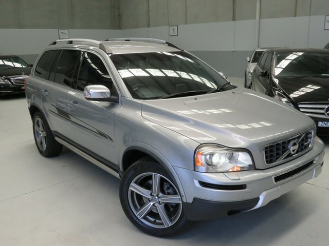 Used Volvo XC90 P28 MY11 D5 Geartronic R-Design Seaford, 2011 Volvo XC90 P28 MY11 D5 Geartronic R-Design Silver 6 Speed Sports Automatic Wagon