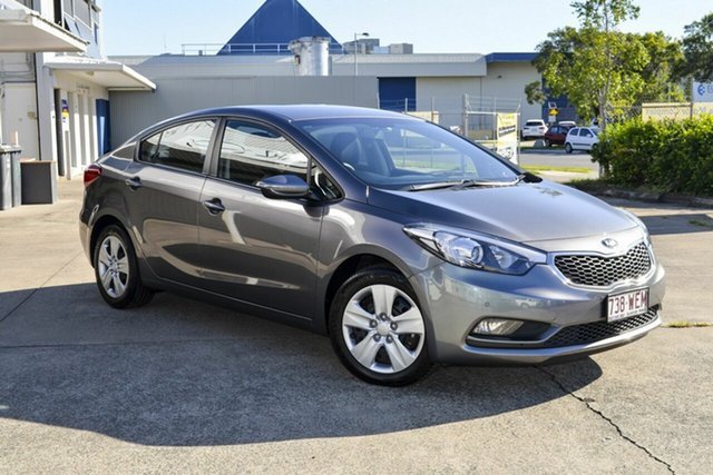 Used Kia Cerato YD MY15 S Virginia, 2015 Kia Cerato YD MY15 S Grey 6 Speed Sports Automatic Sedan