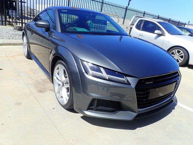 Used Audi TT FV MY16 Sport S Tronic Quattro Wangara, 2015 Audi TT FV MY16 Sport S Tronic Quattro Lava Gray 6 Speed Sports Automatic Dual Clutch Coupe