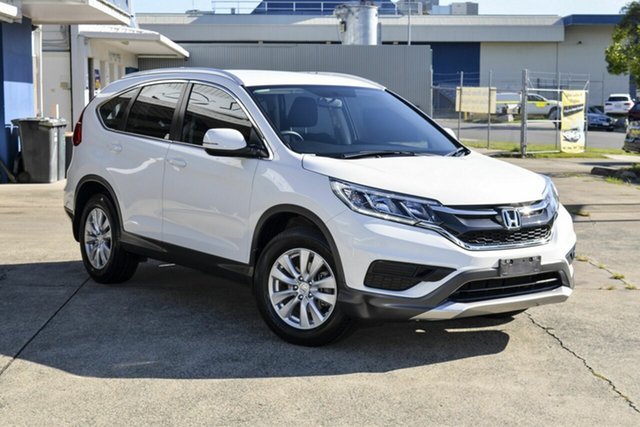 Used Honda CR-V RM MY15 VTi Virginia, 2014 Honda CR-V RM MY15 VTi White 5 Speed Automatic Wagon