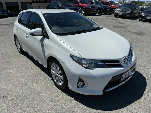 Used Toyota Corolla ZRE182R Ascent Sport S-CVT Hampstead Gardens, 2014 Toyota Corolla ZRE182R Ascent Sport S-CVT Pearl White 7 Speed Constant Variable Hatchback