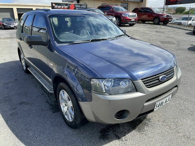 Used Ford Territory SY TX Hampstead Gardens, 2007 Ford Territory SY TX Blue 4 Speed Sports Automatic Wagon