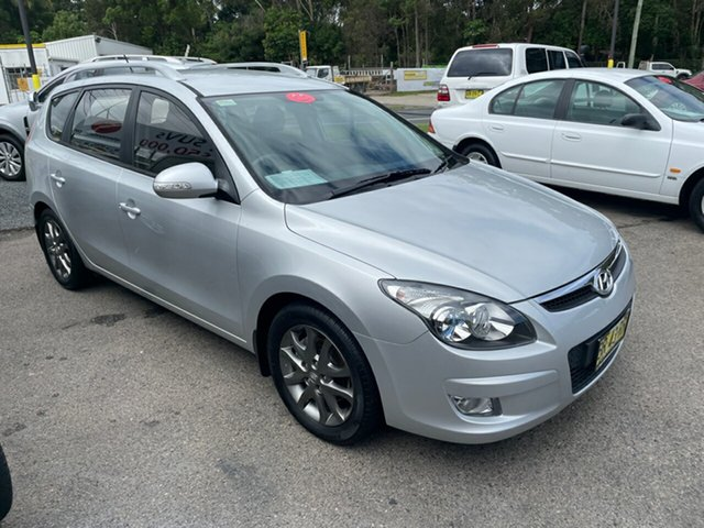 Used Hyundai i30 Coffs Harbour, 2012 Hyundai i30 CW SLX 1.6 DIESEL Silver 4 Speed Automatic Wagon