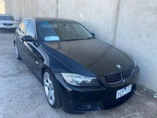 2005 BMW 325i E46 Executive Black 5 Speed Auto Steptronic Sedan.