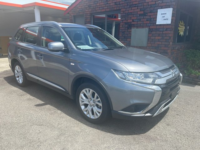 Used Mitsubishi Outlander ES Coffs Harbour, 2019 Mitsubishi Outlander 4WD 7 SEATER ES Silver 6 Speed Automatic Wagon