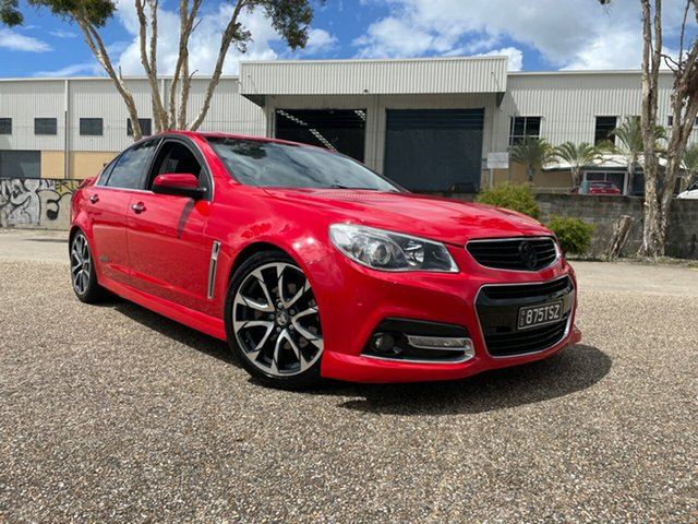 Used Holden Commodore VF MY15 SS-V Underwood, 2014 Holden Commodore VF MY15 SS-V Red 6 Speed Manual Sedan