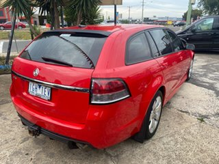 2015 Holden Commodore VF MY15 SV6 Storm Red 6 Speed Automatic Sportswagon