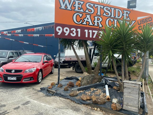 Used Holden Commodore VF MY15 SV6 Storm Hoppers Crossing, 2015 Holden Commodore VF MY15 SV6 Storm Red 6 Speed Automatic Sportswagon