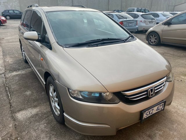 Used Honda Odyssey 20 Luxury Hoppers Crossing, 2004 Honda Odyssey 20 Luxury Gold 5 Speed Sequential Auto Wagon