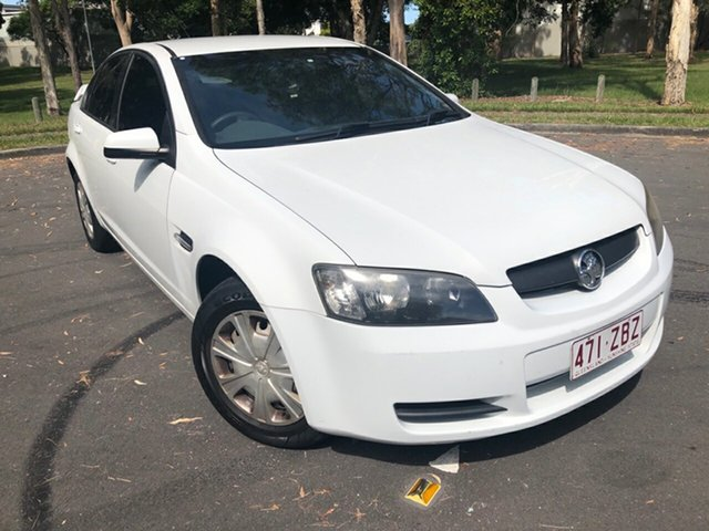 Used Holden Commodore VE MY08 Omega Underwood, 2008 Holden Commodore VE MY08 Omega White 4 Speed Automatic Sedan