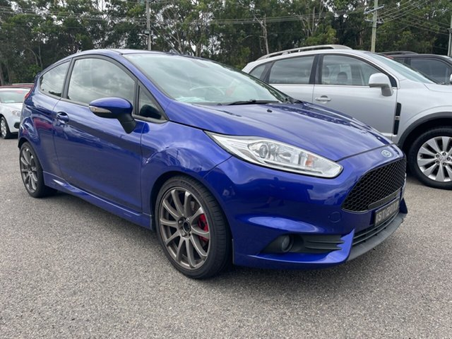 Used Ford Fiesta ST Coffs Harbour, 2017 Ford Fiesta ST Blue 6 Speed Manual Hatchback