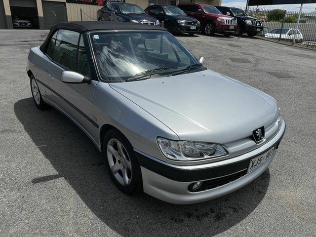 Used Peugeot 306 N5 MY00 Hampstead Gardens, 2000 Peugeot 306 N5 MY00 Silver 5 Speed Manual Convertible