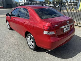 2007 Toyota Yaris NCP93R YRS Red 4 Speed Automatic Sedan