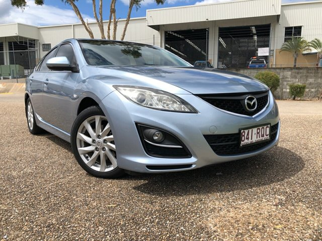 Used Mazda 6 GH MY10 Classic Underwood, 2011 Mazda 6 GH MY10 Classic Blue 5 Speed Auto Activematic Hatchback