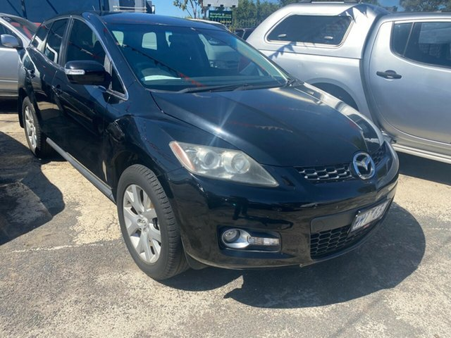 Used Mazda CX-7 ER Classic (4x4) Hoppers Crossing, 2008 Mazda CX-7 ER Classic (4x4) Black 6 Speed Auto Activematic Wagon