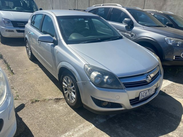 Used Holden Astra AH MY08 CDTi Hoppers Crossing, 2008 Holden Astra AH MY08 CDTi Silver 6 Speed Automatic Hatchback