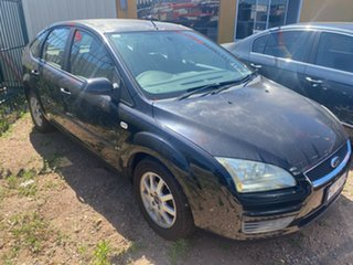 2006 Ford Focus LS CL Black 4 Speed Automatic Hatchback.