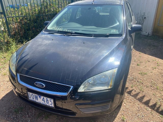 Used Ford Focus LS CL Hoppers Crossing, 2006 Ford Focus LS CL Black 4 Speed Automatic Hatchback
