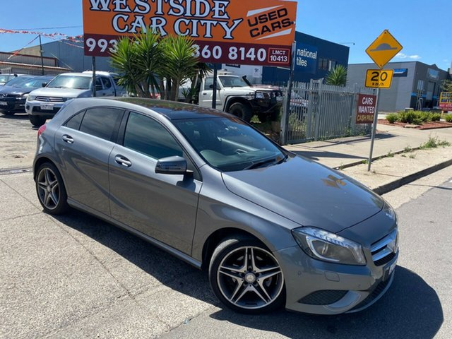 Used Mercedes-Benz A200 176 MY14 CDI Hoppers Crossing, 2014 Mercedes-Benz A200 176 MY14 CDI Grey 7 Speed Automatic Hatchback