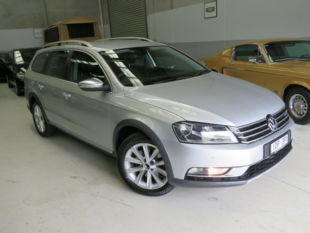 Used Volkswagen Passat Type 3C MY15 Alltrack DSG 4MOTION Seaford, 2015 Volkswagen Passat Type 3C MY15 Alltrack DSG 4MOTION Silver 6 Speed Sports Automatic Dual Clutch