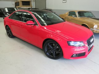 2010 Audi A4 B8 8K MY10 Multitronic Red 8 Speed Constant Variable Sedan